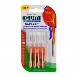 Gum brossettes trav-ler cylindriques 0.9mm