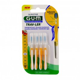 Gum brossettes trav-ler coniques 1.3mm