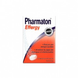 Pharmaton effergy 20 comprimés