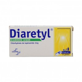 Diaretyl 2mg 12 gélules