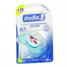 Dodie sucette physiologique silicone + 18 mois