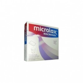Microlax macrogol 3350 10 sachets