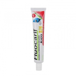 Fluocaril kids dentifrice enfant 2/6ans gel fraise duo 50ml
