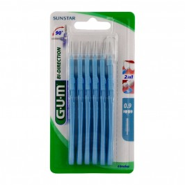 Gum brossettes interdentaires gum bidirection 0.9mm