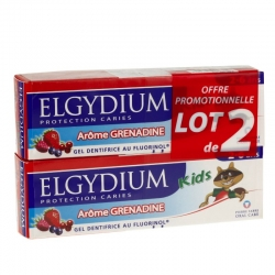 Elgydium grenadine protection caries kids 2-6 ans 50ml