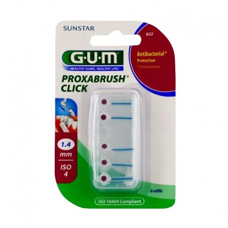 Gum Brossettes interdentaires proxabrush 1.4mm x6