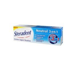 Steradent crème super-fixative neutral 3 en 1 40g
