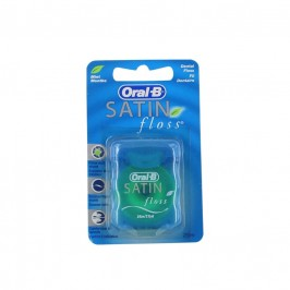 ORAL B satin floss fil dentaire menthol 25m
