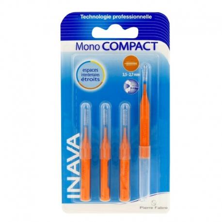 Inava 4 brossettes mono compact orange
