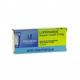 Lopéramide biogaran conseil 2mg 12 gélules
