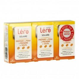 Léro solaire peaux sensibles 2 boites + 1 Offerte