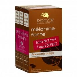 Biocyte mélanine forte peau bronzée protégée 3 mois 90 comprimés