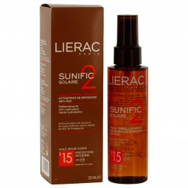 Lierac Sunific SPF15 Huile Embellissante 125ml