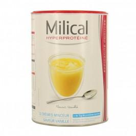 Milical hyperprotéiné vanille 12 crèmes
