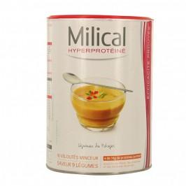 Milical Hyperprotéiné 9 Légumes 18 Veloutés Minceur