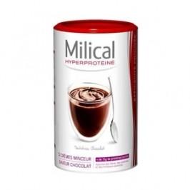 Milical hyperprotéiné saveur chocolat 12 crèmes