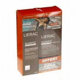 Lierac Coffret sunific préparateur sérum starter bronzage 125ml + 30 capsules Sunific
