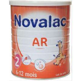 Novalac lait AR 2ème âge 800g