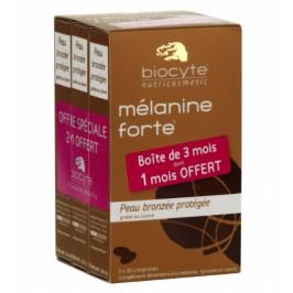 Biocyte Mélanine Forte 30 comprimés Lot de 3