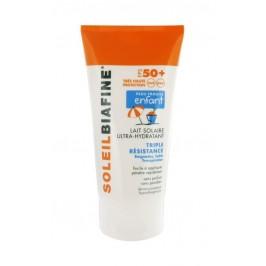 Soleilbiafine Lait Solaire Ultra-Hydratant Enfant SPF50+ Triple Résistance 150 ml
