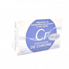 Ea Pharma Granions de Chrome 200ug 30 ampoules