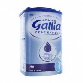 Gallia Bébé Expert Hypo Allergénique 1er Age 800g