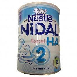Nestlé Nidal Excel Hypo Allergénique 2ème Age 800g