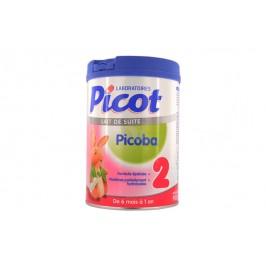 Picot picoba lait 2ème âge 900gr