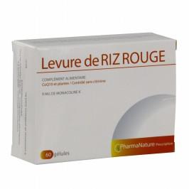 Pharma Nature Levure de Riz Rouge 60 comprimés