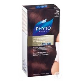 Phyto Color Coloration Soin Permanente Haute Brillance aux Pigments Végétaux chatain clair marron