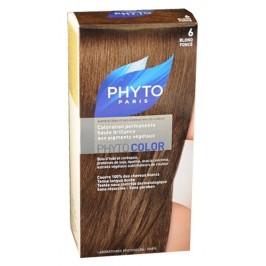 Phyto Color Coloration Soin Permanente Haute Brillance aux Pigments Végétaux Blond Foncé