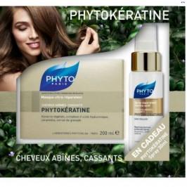 Coffret Phytokératine Masque Ultra-Réparateur 200ml + Spray Réparateur Thermo-actif 30ml Offert