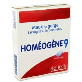 Boiron homéogène 9 comprimés x 60