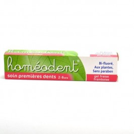 Boiron dentifrice soin premières dents homéodent 50ml