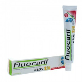 Fluocaril Kids Dentifrice Fraise 2-6 ans 50 ml