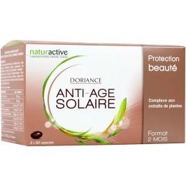 Doriance Solaire Anti-âge 2x60 Capsules