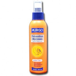 Urgo spray prévention mycoses 150 ml