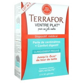 Terrafor Ventre Plat Lot de 2x50 gélules