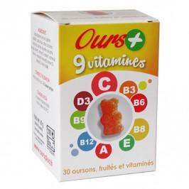 Ours + vitamines pour enfants 30 oursons