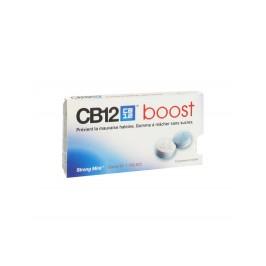 CB12 Boost Strong Mint 10 gommes à macher