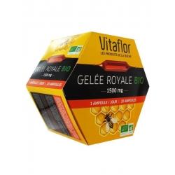 Vitaflor Gelée Royale Bio 1500 mg 20 Ampoules