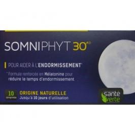 Santé Verte SomniPhyt 30' Mélatonine 10 Comprimés