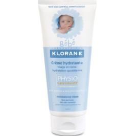 Klorane bébé crème hydratante visage et corps 200ml