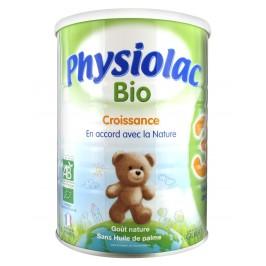 Gilbert Physiolac Lait standard Bio age 3 croissance 900g