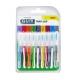 Gum Travler-pack interdentaires 9 brossettes