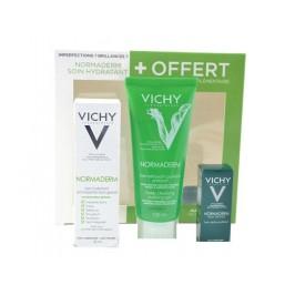 Vichy Normaderm Coffret Soin Global 50ml + Gel Nettoyant 100ml + Echantillon Nuit
