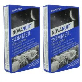 Sanofi Novanuit sommeil triple action 2 x 30 gélules