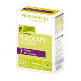 Pranarôm Oleocaps 7 30 Capsules Sommeil & Stress Passager