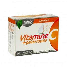 Nutrisanté vitamine C + gelée royale 24 comprimés à croquer