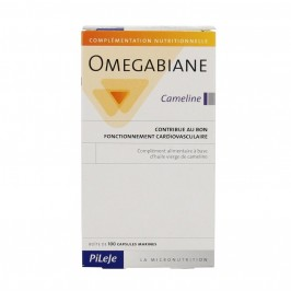 Omégabiane cameline fonctionnement cardiovasculaire 100 capsules